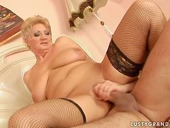 Astrid gets her pussy licked, fingered and fucked every which way
