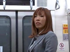 Public Gangbang & Massive Facial On The Bus With Japanese hottie.