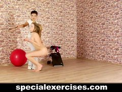 Humillación - BDSM session for hot blonde teen