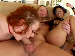 Audrey Hollander anal threesome