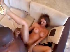 Colombian milf Monique goes black today