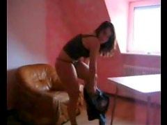 He films hot fucking with his girlfriend