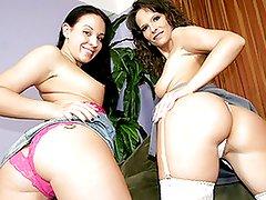 When mom Syren De Mer found out from her cousin that her daughter Alexa Jordan was an online pornstar, she was A bit shocked.  But she wasn't fully surprised since A apple doesn't fall far from th