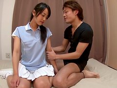 Asian Teen Suzu Wakana Getting That Tight Pussy Fucked