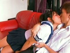 Big Titted Asian School Girl Rie Suzumiya Facesitting