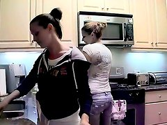 Two best friends decide to cook