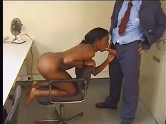 Black teen postal worker ass fucked in locker room