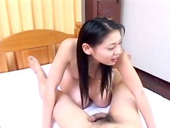 Giggling slut Tyara is ready to provide a dick with a blowjob