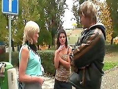 Older prostitute pleases stud