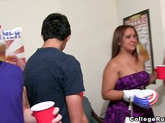 Crazy Hot Orgy With Hotties In The Dorm!