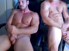2 Muscle Boys Cum On Cam (Sexy Asses And Shower Show) USA