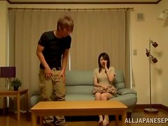 Japanese Teen Stunner Fucked Missionary and Doggy Style