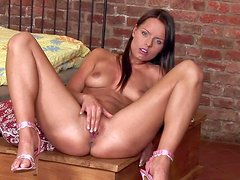 Kari is a lovely young lady with dark hair, natural
