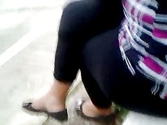 Touch lady leggins in park p2