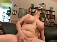 Moist Bigtitted Mom playing Power tool And Spreading Her labia Lips