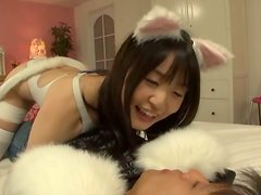 Naughty Teen Gets Fucked In Her Kitty Costume