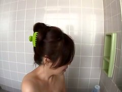 Mature Cock Sucker Gives Great Head In The Bathroom