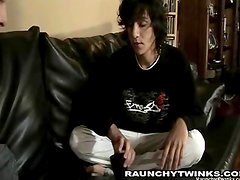 Gay Twinks Fucking on the Couch