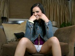 Culo - Cute Blazing hottie gets horny while rubbing her clit