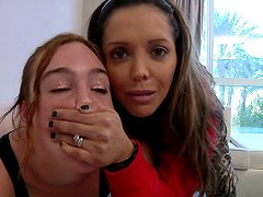 Jodi Taylor willingly submits to Mark Wood and Francesca Le
