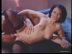 Glamorous hottie fucked in wet pussy