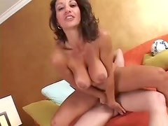 Milf with hot curves sucks and screws