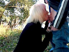 Platinum Blonde Wife Riverside Oral-Stimulation Joy