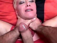 Take a look at provocative short-haired blonde hoochie Cassidy getting cruely fucked