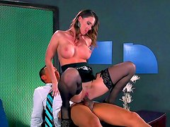 Asian boss is fucking his hot secretary