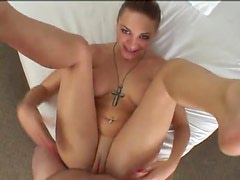 POV with ball sucking and anal sex