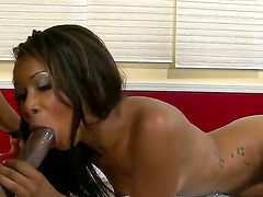 Naughty Cali Sweet enjoys fucking like crazy with nasty male Sean Michaels