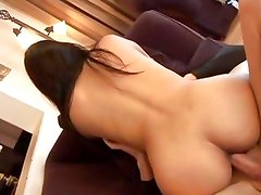Carmen Pena rides her moist pussy on this thick cock