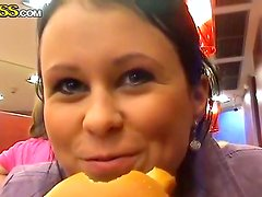Krystinka enjoys in having fun with a hot guy and gets caught on a camera as well