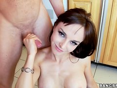 What a great cock sucker this sexy milf Cytherea is!