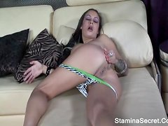 ANGELINA VALENTINE -Hot Latina Ride A Big Cock And Got Facial