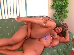 See the BBW with the huge black ass fucked