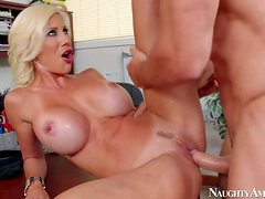 Puma Swede is a good looking mature lady boss with