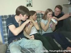 Young Sex Parties - Teens fuck together like crazy